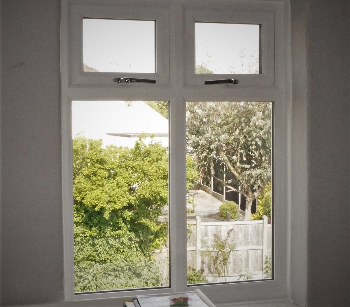 Casement windows in White Ball