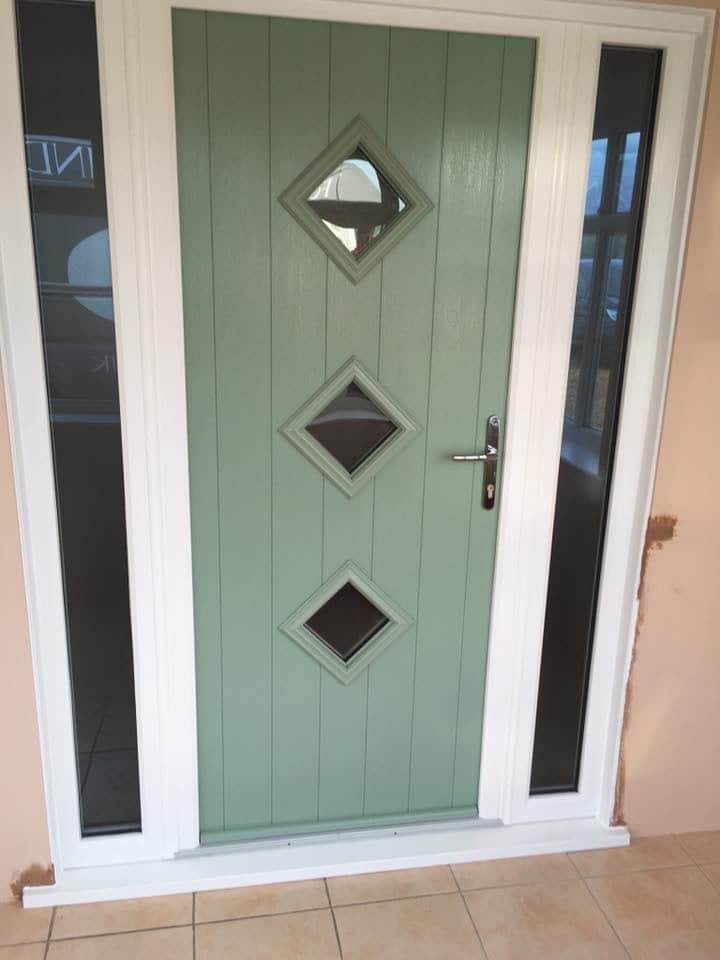 Replacement door in Llanellen