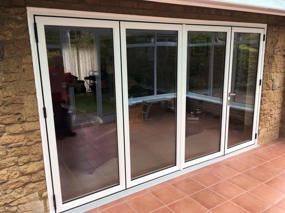 Bi fold door in Higher Disley
