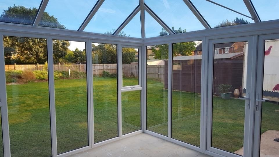 Bi fold door in Hazeley Lea