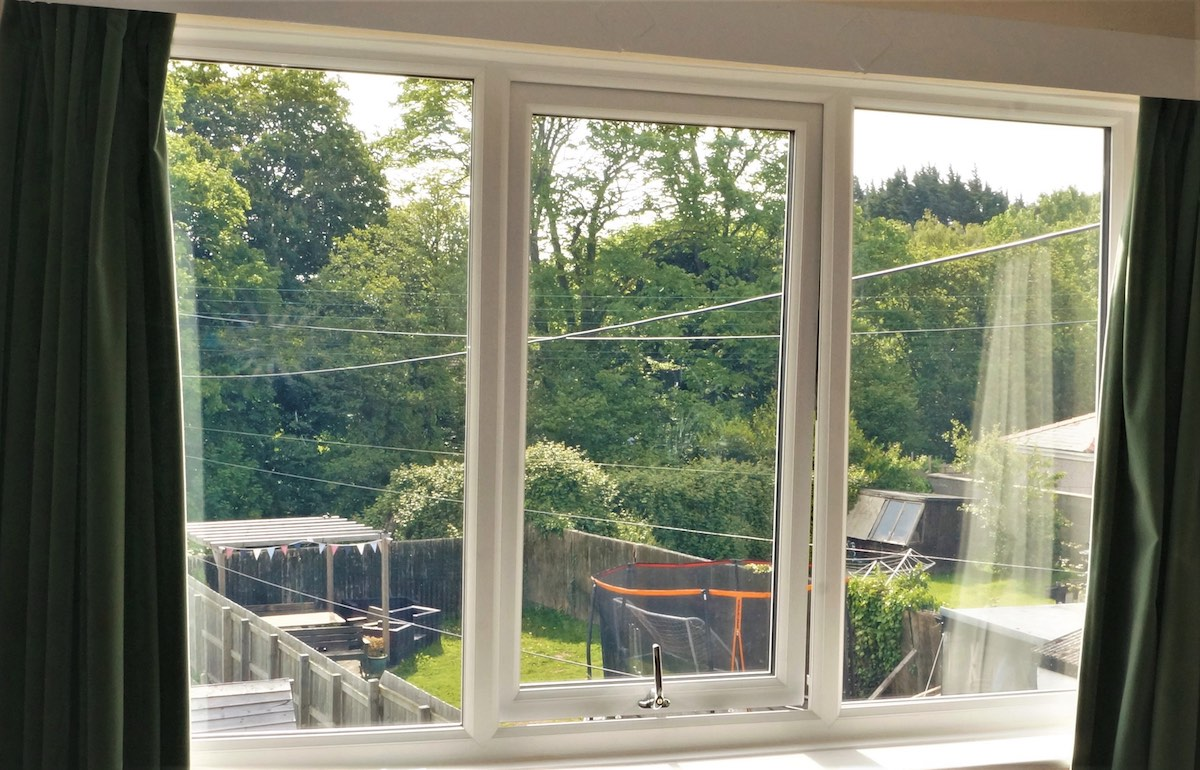 UPVC windows in Pantperthog