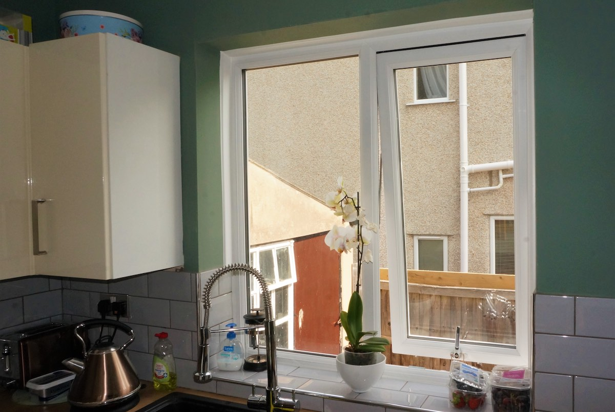 UPVC windows in Pensax