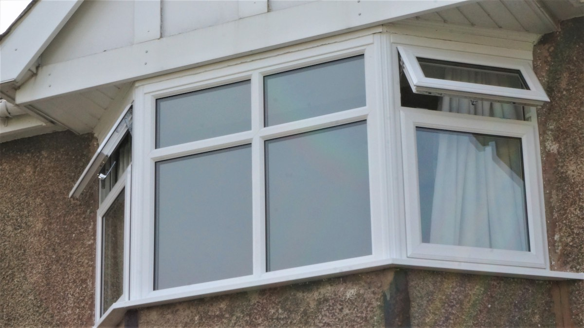 PVC windows in Plas Gogerddan