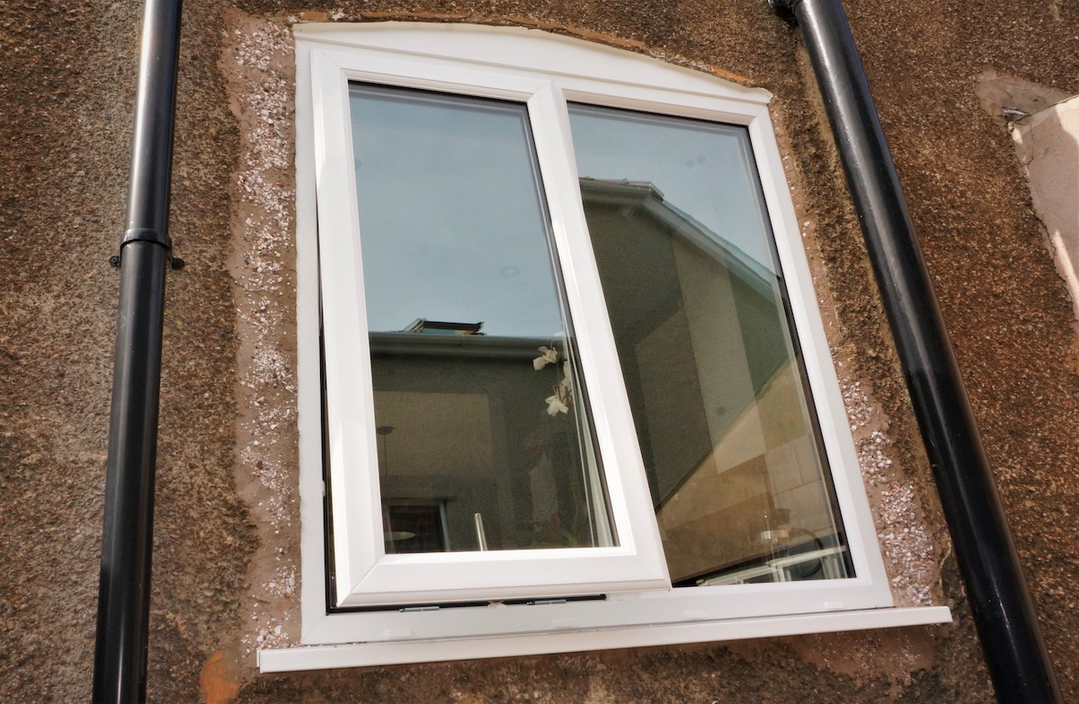 Replacement windows in Pleasley Vale