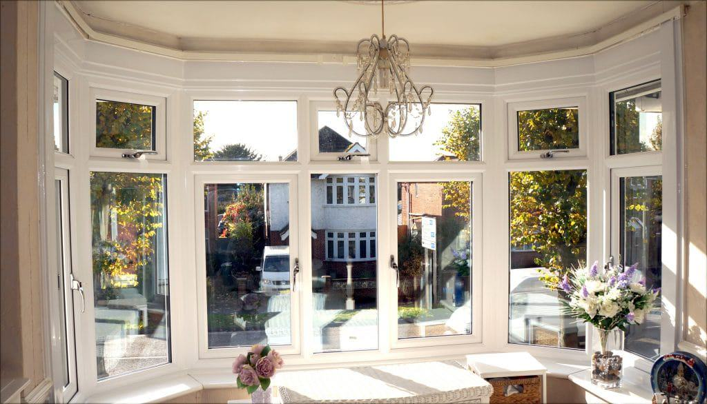 An image of a bay window