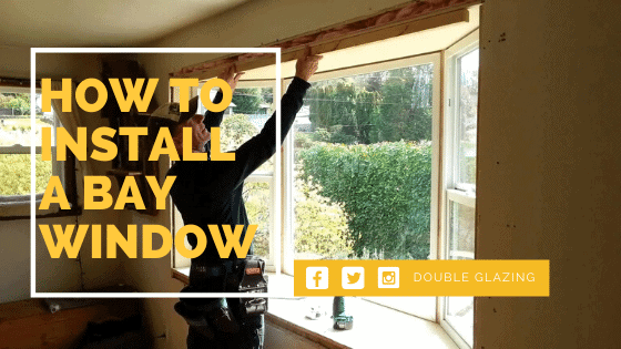 How to install a bay window image